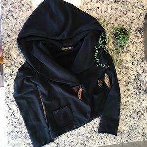 Ralph Lauren rugby black hoodie